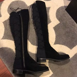 Michael Kors Skye lace up over the knee boots